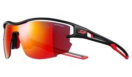 Julbo Aero Prescription Sunglasses - Clip-On Insert - Matte Black & Red / Spectron 3 CF Red