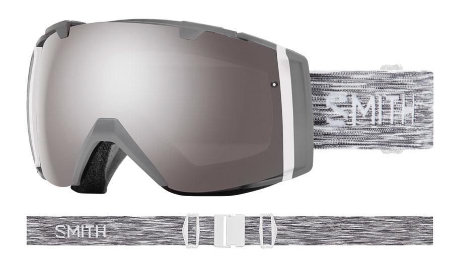 92b363de01 Smith Optics I O Ski Goggles - Cloudgrey   ChromaPop Sun Platinum ...