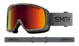 Smith Project Ski Goggles - Charcoal / Red Sol-X Mirror