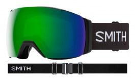 Smith I/O MAG XL Prescription Ski Goggles - Black / ChromaPop Sun Green Mirror + ChromaPop Storm Rose Flash