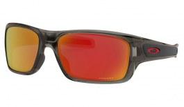 Oakley Turbine XS Sunglasses - Grey Smoke / Prizm Ruby