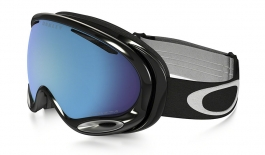 Oakley A Frame 2.0 Ski Goggles - Jet Black / Prizm Sapphire Iridium