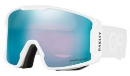 Oakley Line Miner Prescription Ski Goggles - Factory Pilot Whiteout / Prizm Sapphire Iridium
