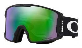 Oakley Line Miner Prescription Ski Goggles - Matte Black / Prizm Jade Iridium