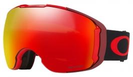 Oakley Airbrake XL Ski Goggles - Obsessive Lines Red / Prizm Torch Iridium + Prizm Rose