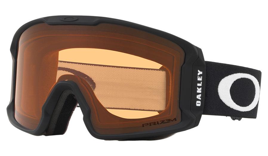 Oakley Line Miner XM Ski Goggles - Matte Black / Prizm Persimmon