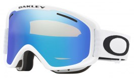 Oakley O Frame 2.0 Pro XM Prescription Ski Goggles - Matte White / Violet Iridium + Persimmon