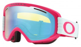 Oakley O Frame 2.0 Pro XM Ski Goggles - Strong Red Jasmine / HI Yellow Iridium + Dark Grey