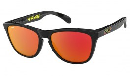 Oakley Frogskins Sunglasses - Valentino Rossi Signature Series Polished Black / Prizm Ruby