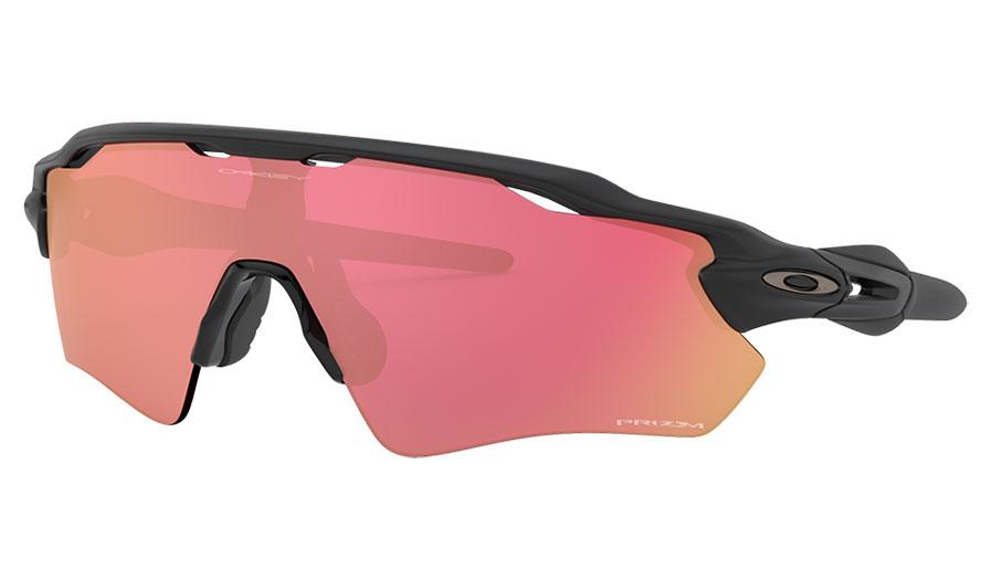 Oakley Radar EV Path Sunglasses - Matte Black / Prizm Snow Torch