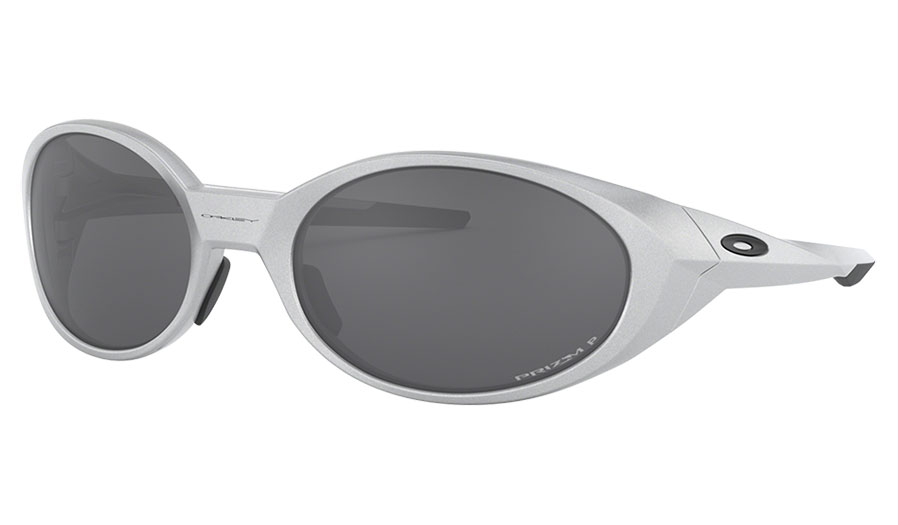 Oakley Eye Jacket Redux Sunglasses - Silver / Prizm Black Polarised
