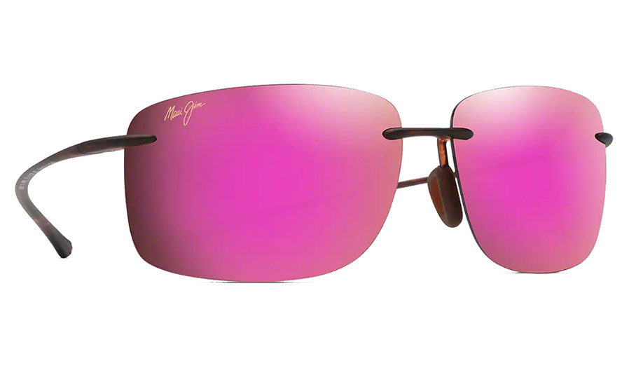Maui Jim Hema Sunglasses - Matte Tortoise / Maui Sunrise Polarised