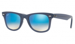 Ray-Ban RB4340 Wayfarer Ease Sunglasses - Blue / Blue Gradient Flash