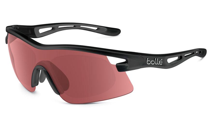 fb4157634b Bolle Vortex Prescription Sunglasses - Shiny Black - RxSport