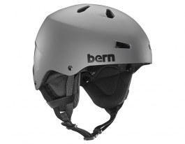 Bern Team Macon Ski Helmet - Matte Grey