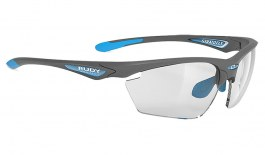 Rudy Project Stratofly Prescription Sunglasses - Clip-On Insert - Matte Pyombo / ImpactX 2 Photochromic Black