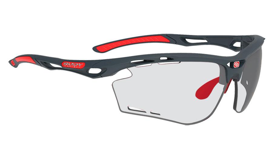 Rudy Project Propulse Prescription Sunglasses - ImpactRX Directly Glazed - Matte Charcoal