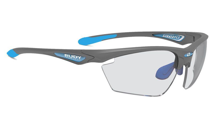 Rudy Project Stratofly Prescription Sunglasses - ImpactRX Directly Glazed - Matte Pyombo