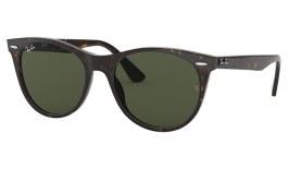 Ray-Ban RB2185 Wayfarer II Sunglasses - Havana / Green