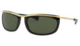 Ray-Ban RB2319 Olympian I Sunglasses - Black / Green