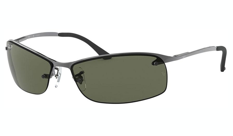 Ray-Ban RB3183 Sunglasses - Gunmetal / Green Polarised