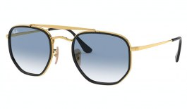Ray-Ban RB3648M Marshal II Sunglasses - Gold / Blue Gradient