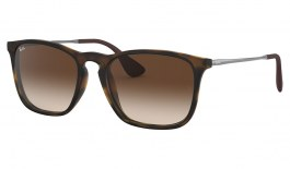 Ray-Ban RB4187 Chris Sunglasses - Tortoise / Brown Gradient