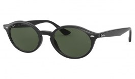 Ray-Ban RB4315 Sunglasses - Black / Green
