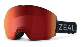 Zeal Portal XL Ski Goggles - Dark Night / Automatic+ RB Polarised Photochromic + Persimmon Sky Blue Mirror