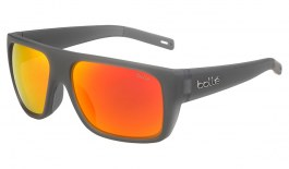 Bolle Falco Sunglasses - Matte Crystal Grey / Brown Fire