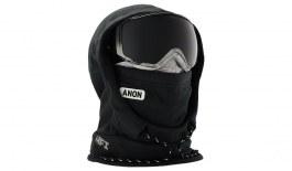 Anon Women's MFI Fleece Helmet Hood - Marble Black