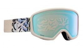 Anon Deringer MFI Ski Goggles - Powder / Perceive Variable Blue + Amber