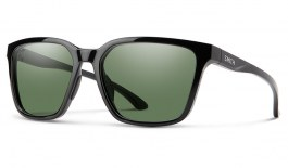 Smith Shoutout Sunglasses - Black / ChromaPop Grey Green Polarised