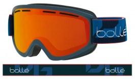 Bolle Schuss Ski Goggles - Matte Navy / Sunrise