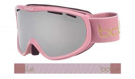 Bolle Sierra Ski Goggles - Shiny Vintage Rose / Black Chrome