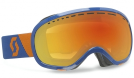 Scott Off-Grid Ski Goggles - Blue / Red Chrome