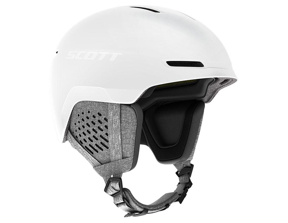 Scott Track Plus MIPS Ski Helmet - White