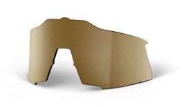 100% Speedcraft Replacement Lens Kit - Flash Gold Mirror