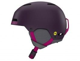 Giro Ledge MIPS Ski Helmet - Matte Urchin & Pink Street