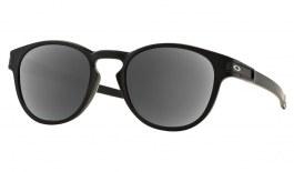 Oakley Latch Prescription Sunglasses - Matte Black (Satin Chrome Icon)