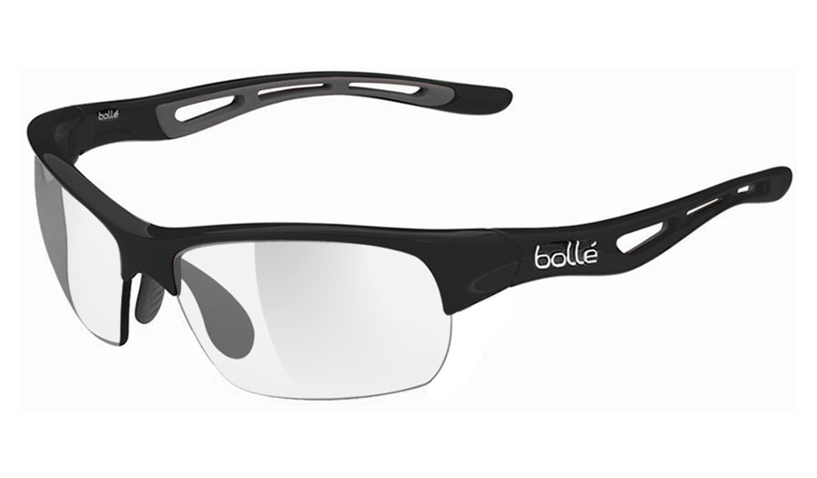 cb457d2b4f Bolle Bolt S Prescription Sunglasses - Shiny Black - RxSport