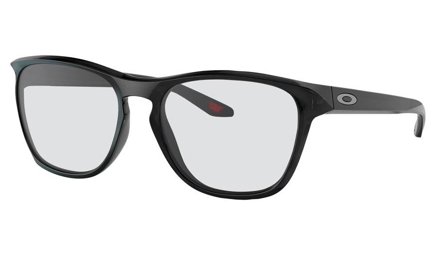 Oakley Manorburn Prescription Sunglasses - Black Ink (Chrome Icon)