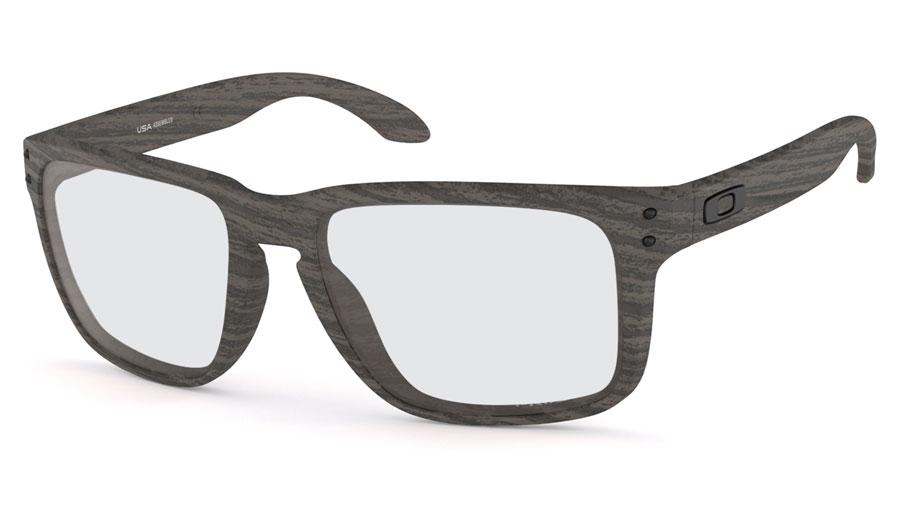 e0e7ecfb6d0 Oakley Holbrook XL Prescription Sunglasses - Woodgrain - RxSport
