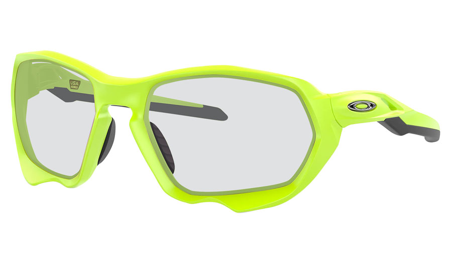 Oakley Plazma Prescription Sunglasses - Matte Retina Burn