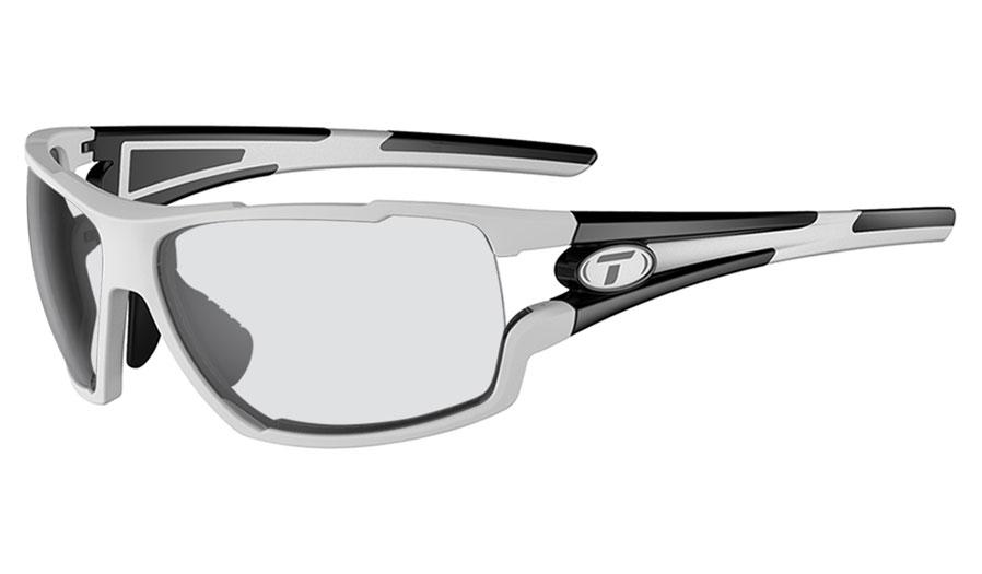 Tifosi Amok Prescription Sunglasses - White & Black