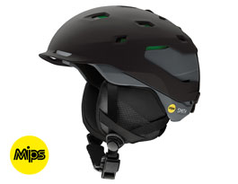 Smith Quantum MIPS Ski Helmet - Matte Black Charcoal