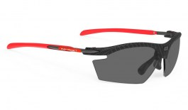 ceee720496c Rudy Project Rydon Directly Glazed Prescription Sunglasses - Carbonium   Red