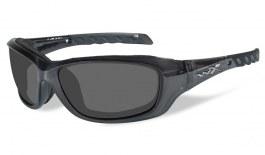Wiley X Gravity Prescription Sunglasses - Black Crystal