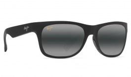 Maui Jim Kahi Prescription Sunglasses - Matte Black Soft Touch