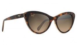 Maui Jim Kalani Sunglasses - Dark Tortoise with Caramel Interior / HCL Bronze Polarised